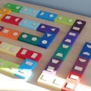domino geometryczne Grimm's - zabawa 3