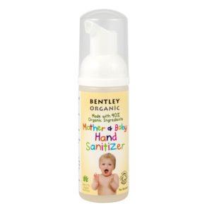 Dziecięca antybakteryjna pianka do mycia rąk Bentley Organic