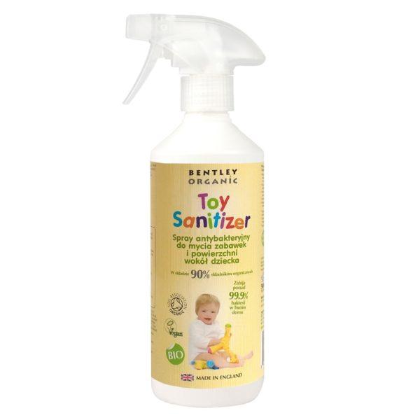 Spray antybakteryjny do mycia zabawek Bentley Organic