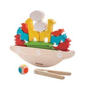Balansująca łódka Plan Toys
