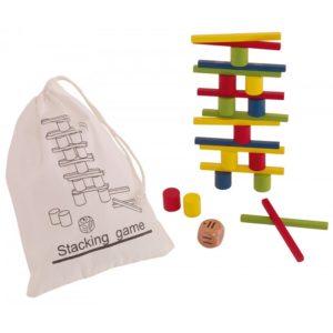 gra zręcznościowa kolorowa wieża
