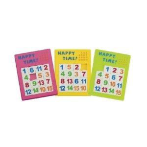 przesuwane puzzle liczbowe Goki