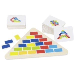 puzzle segmentowy trójkąt Goki