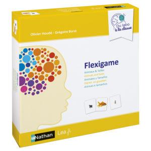 Warsztat neurologiczny Flexigame - Zwierzęta i rozmiary - opakowanie